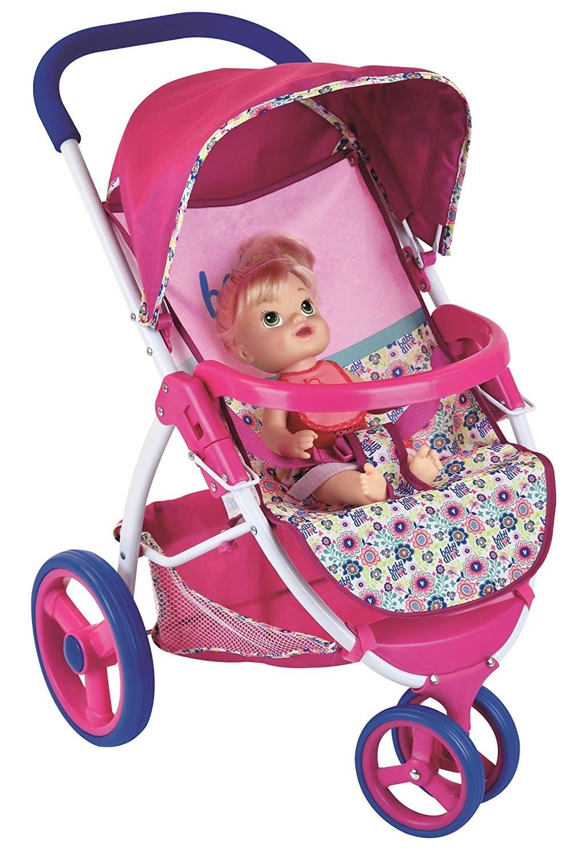 Carrinho De Bonecas Baby Alive Lifestyle Stroller Toy