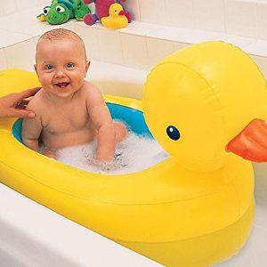 Banheira Inflavel Patinho Amarelo Duck Tub