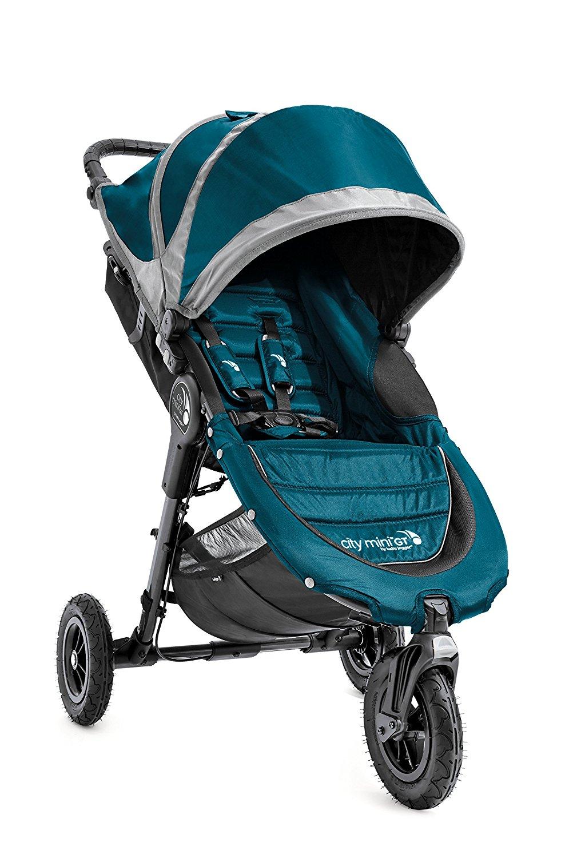 Carrinho de bebê Baby Jogger City Mini GT Single Cor Verde/Cinza