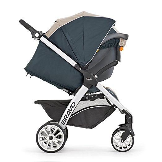 e0ede9802 Carrinho de Bebê e Bebê Conforto Chicco Bravo Trio Travel System ...