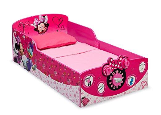 36b71617d7 Cama Infantil Disney Delta Children Interactive Wood Toddler Bed ...